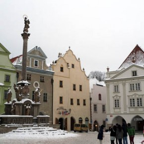 Český Krumlov 市中心